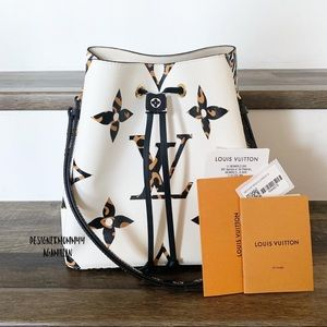 🆕🇫🇷Louis Vuitton Jungle Neo Noe Ivory